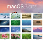 Mac OS Sierra Wallpaper Pack