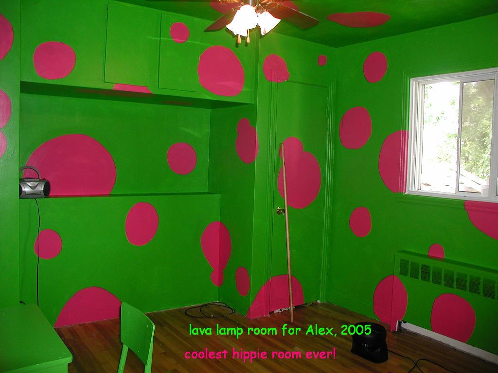 Lava lamp room - Lava Lamp Room For Alex By Gardengnome69
