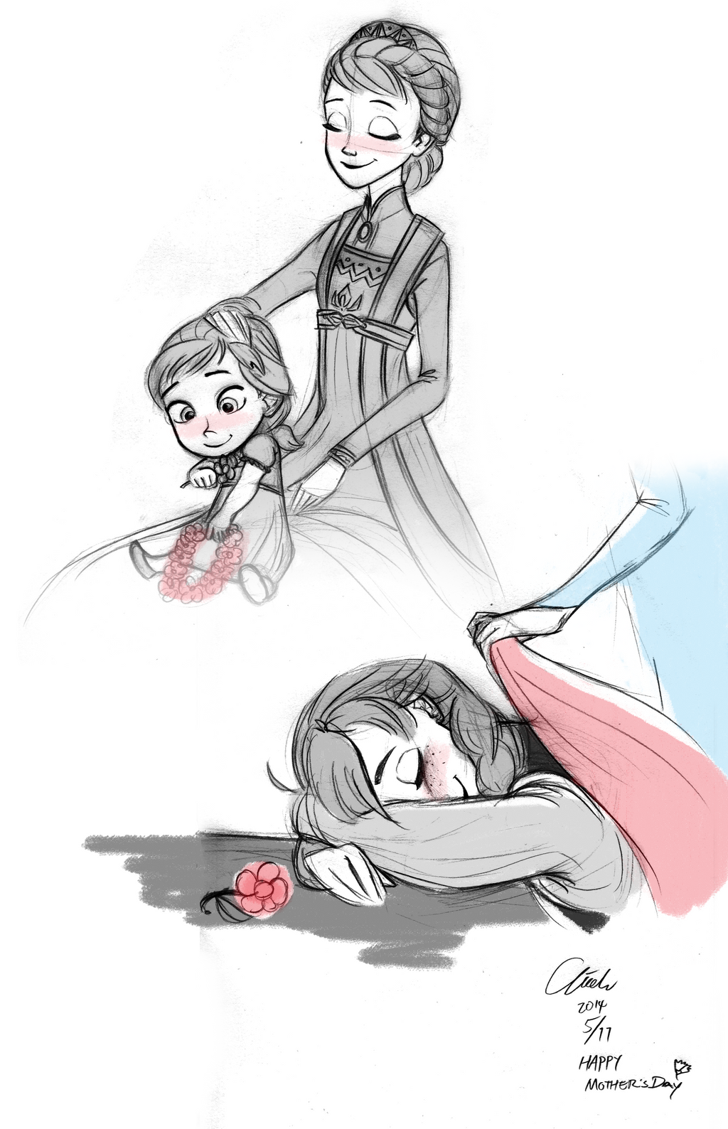 Mother daughter futanari