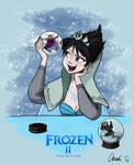 Disney Frozen Evil Elsa's Snow Globe by ChiehChen