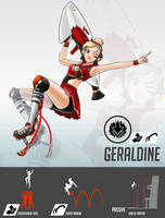 Overwatch OC-Geraldine by ChiehChen