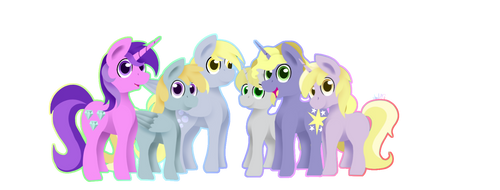 Request: Another Whooves Family by FlashBrush