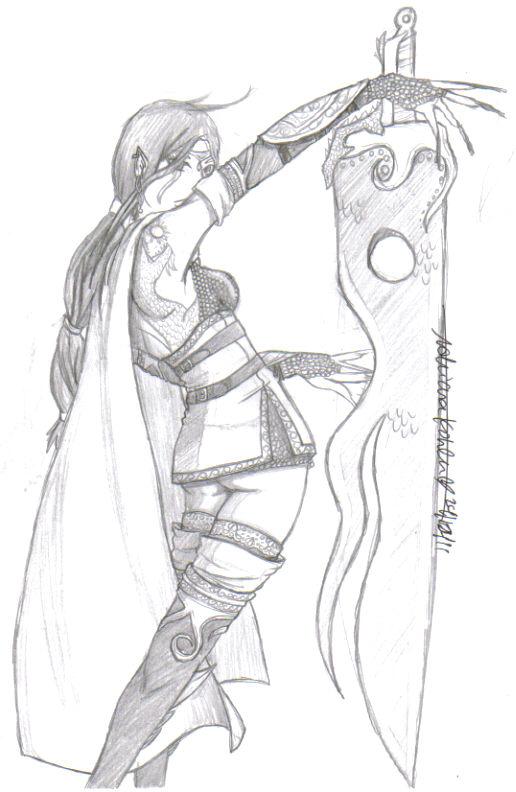 Dragon Girl by WoodpeckerDMW