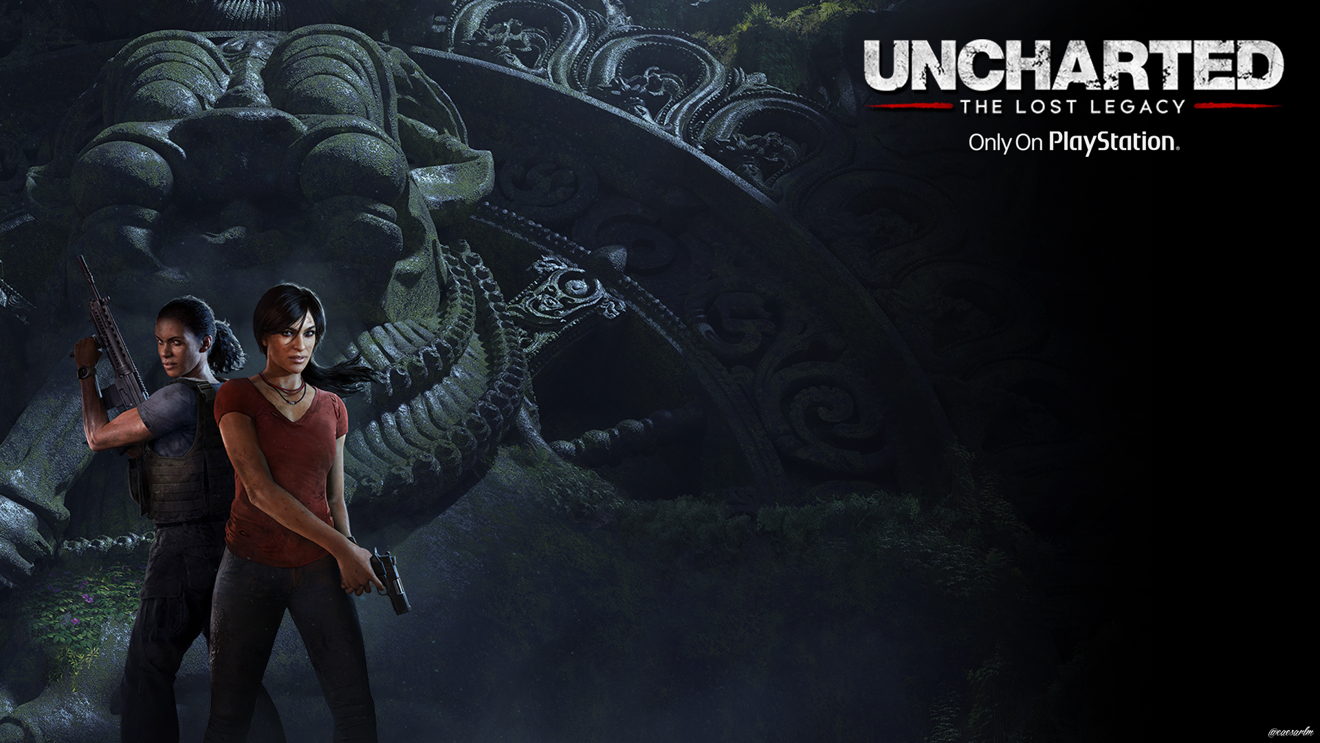 Uncharted The Lost Legacy Wallpaper By Firawallcesar On Deviantart