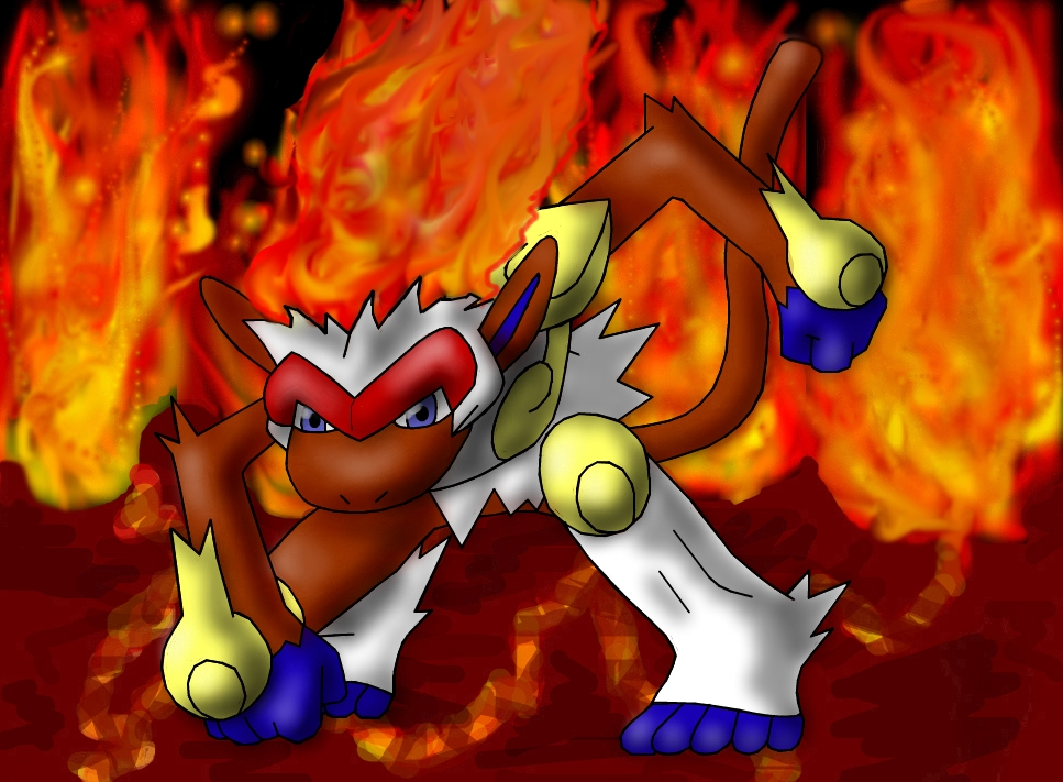 Infernape Wallpaper