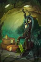 Cheese queen by NATAnatfan