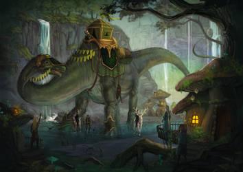 Diplodocus by NATAnatfan