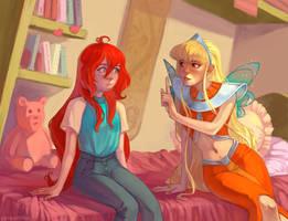 Bloom and Stella - Screenshot redraw by NATAnatfan