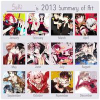 Summary art 2013 by Sukihi