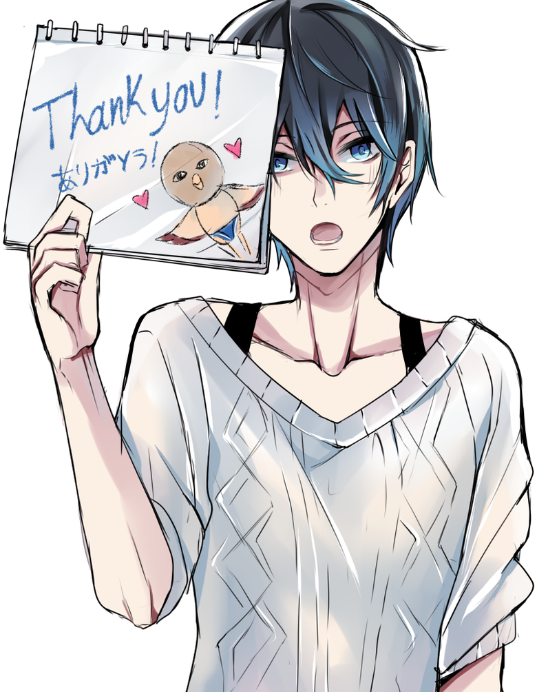 Thank you! by Sukihi