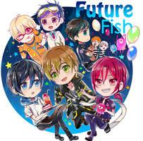 Future Fish Memo by Sukihi