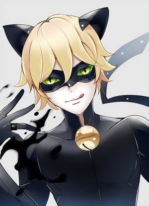 Chat Noir by Sukihi