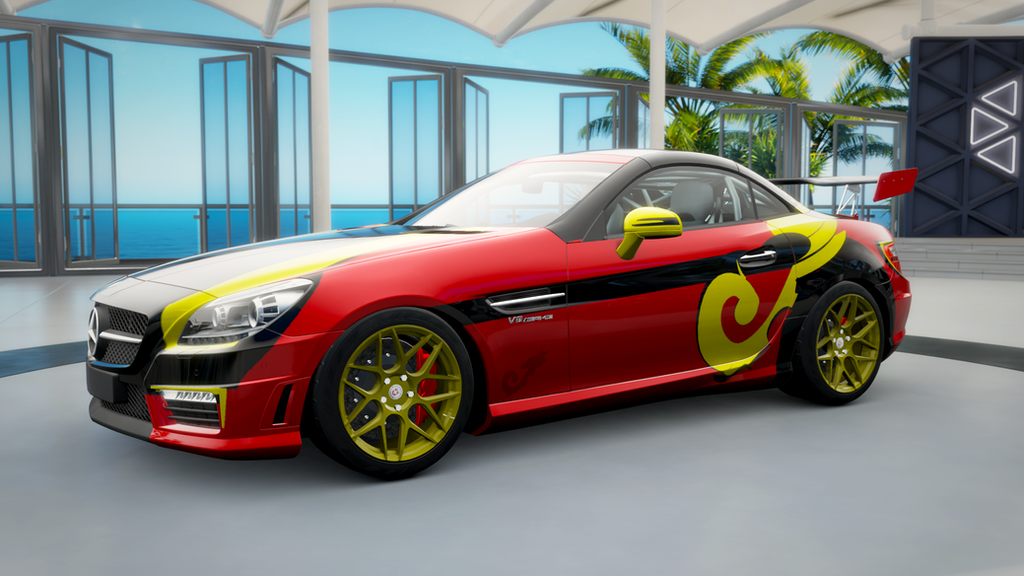 fh3 mercedes benz slk 55 amg special edition by