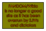 FANDOM/Wikia Sucks Now