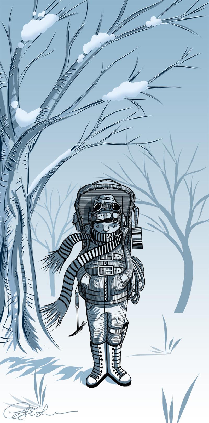 Snowman by wokjow