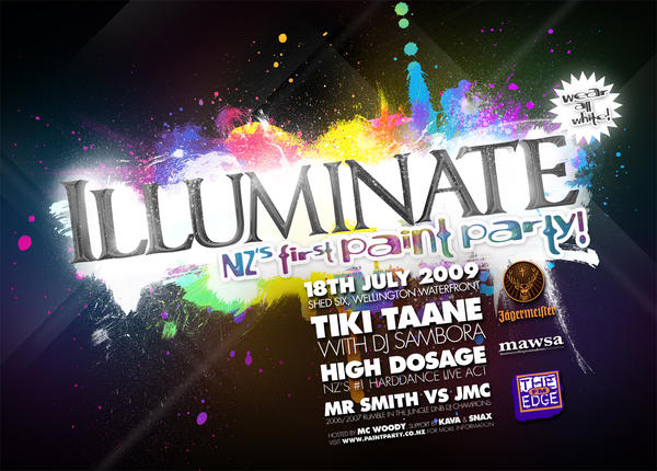 Illuminate Poster by snaxnz