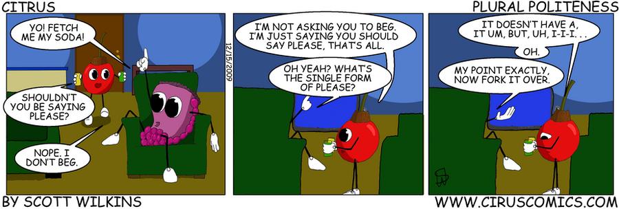 Citrus Comic Plural Politeness by Collon28
