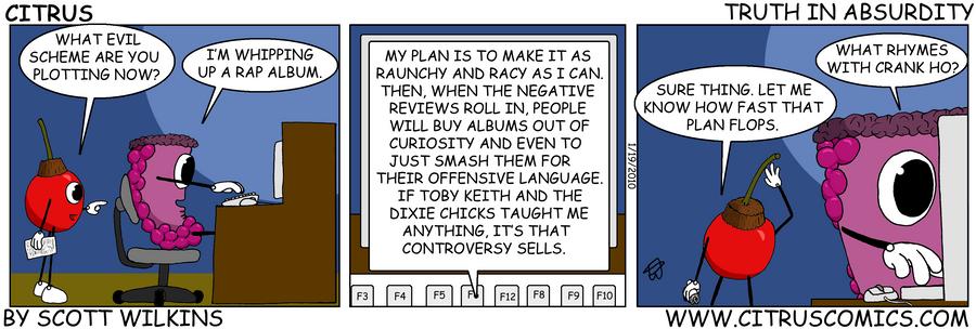 Citrus Comic Absurdity by Collon28