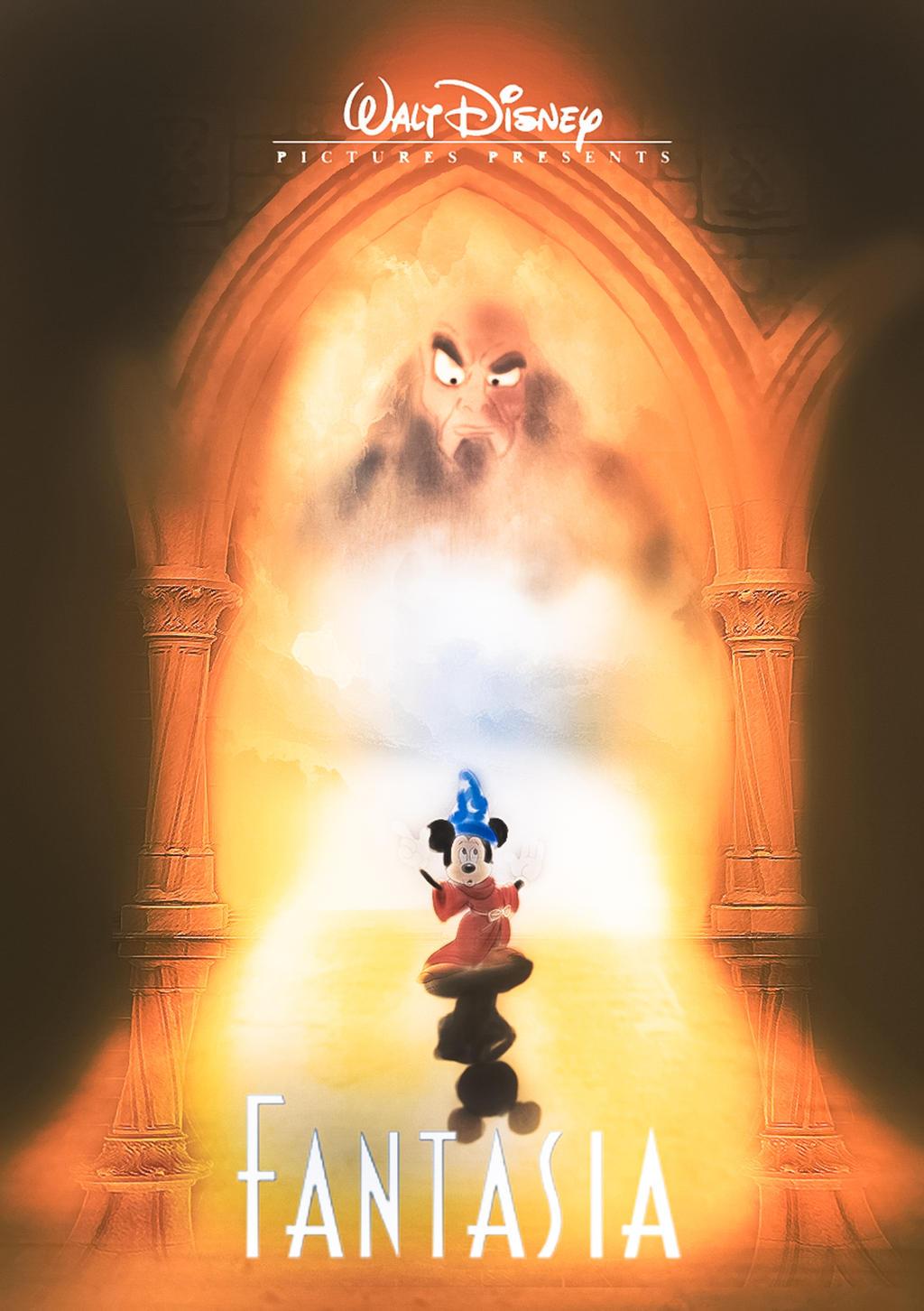 Disney S Fantasia Fanmade Poster By Jonathanjohansson89 On Deviantart