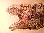 Cyborg Tyrannosaurus