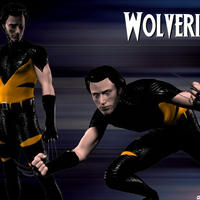Wolvie Test Render 2 by callmemilo