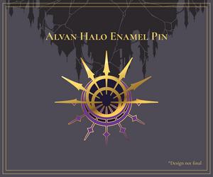 AA - Alvan Halo Enamel Pins by seiracchi