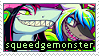 Squeedgemonster stamp by stahmps