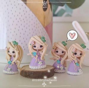 Rapunzel statuettes