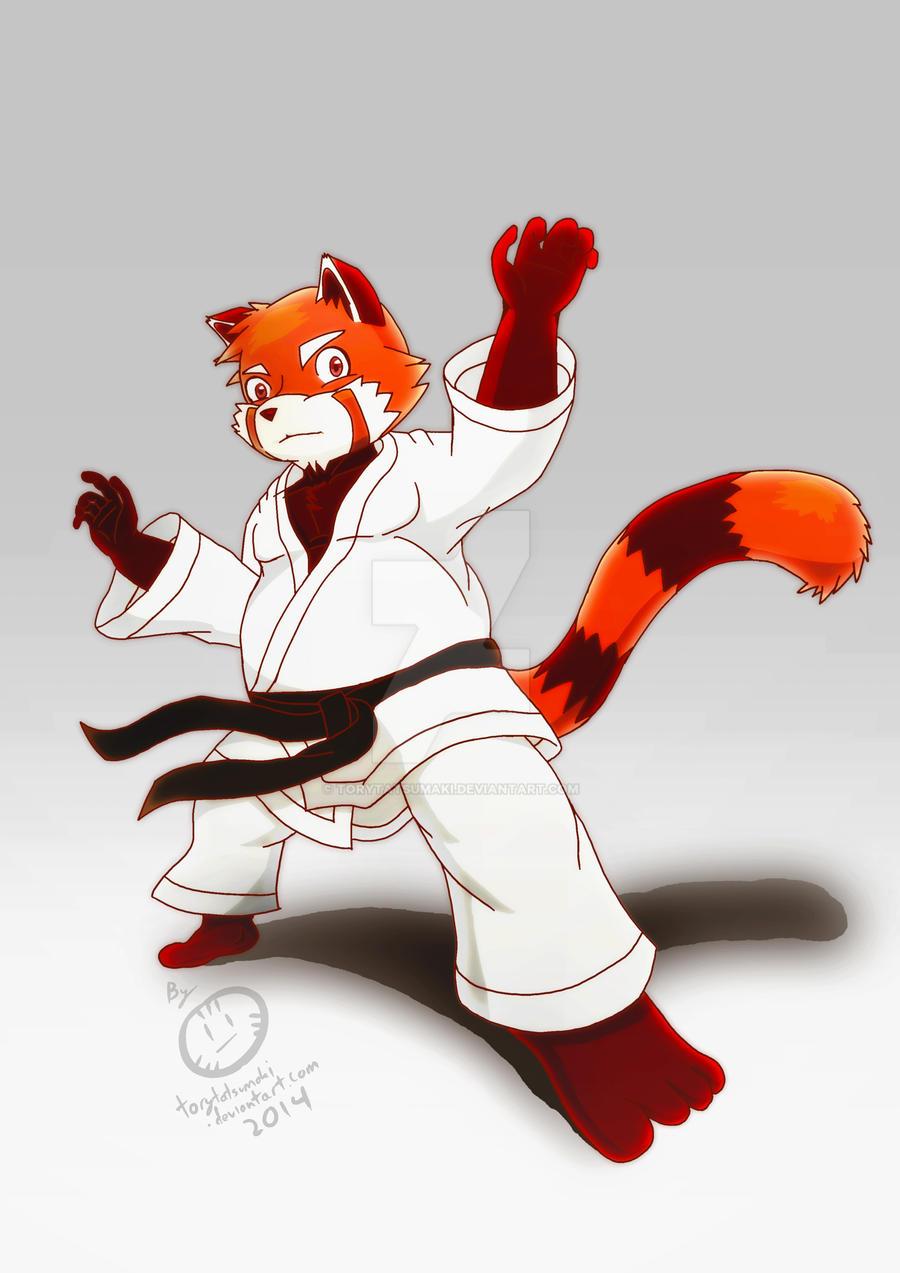 Judo redpanda