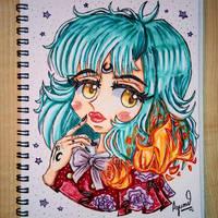Beautiful Chibigirl [chibi, kawaii, cute]