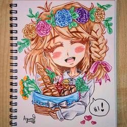 Adorable Chibigirl [kawaii, chibi, cute]
