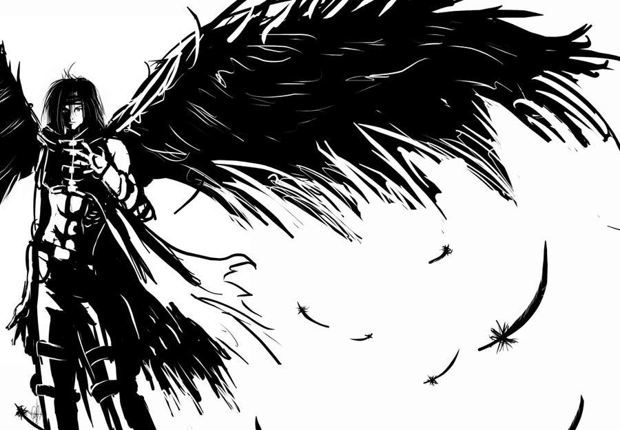 Black angel by doghateburger