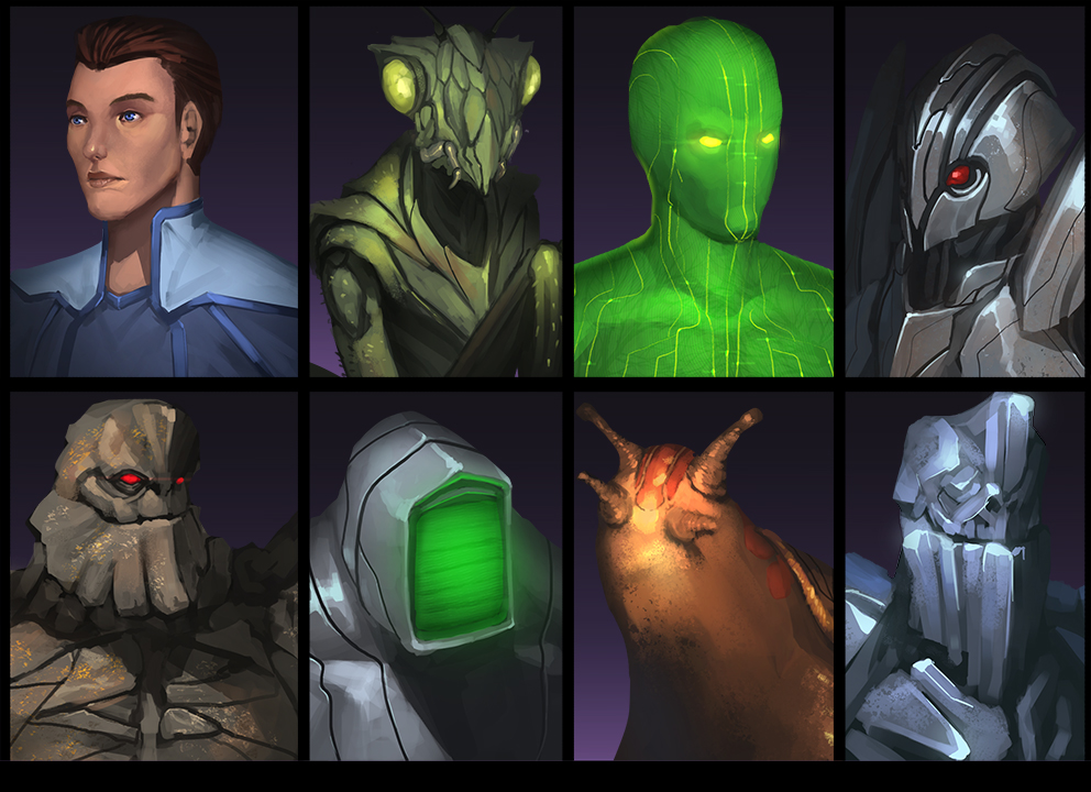 FTL Portraits by doghateburger