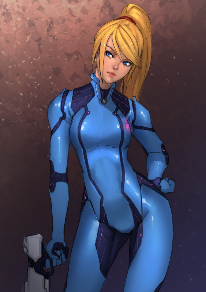 Zero Suit Samus by doghateburger