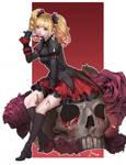 Gothic Lolita doodle