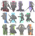 Doodle 2015 - Character design compilation