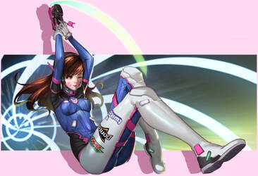 D.va Doodle [updated] by doghateburger