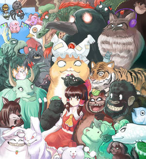 Touhou Critters