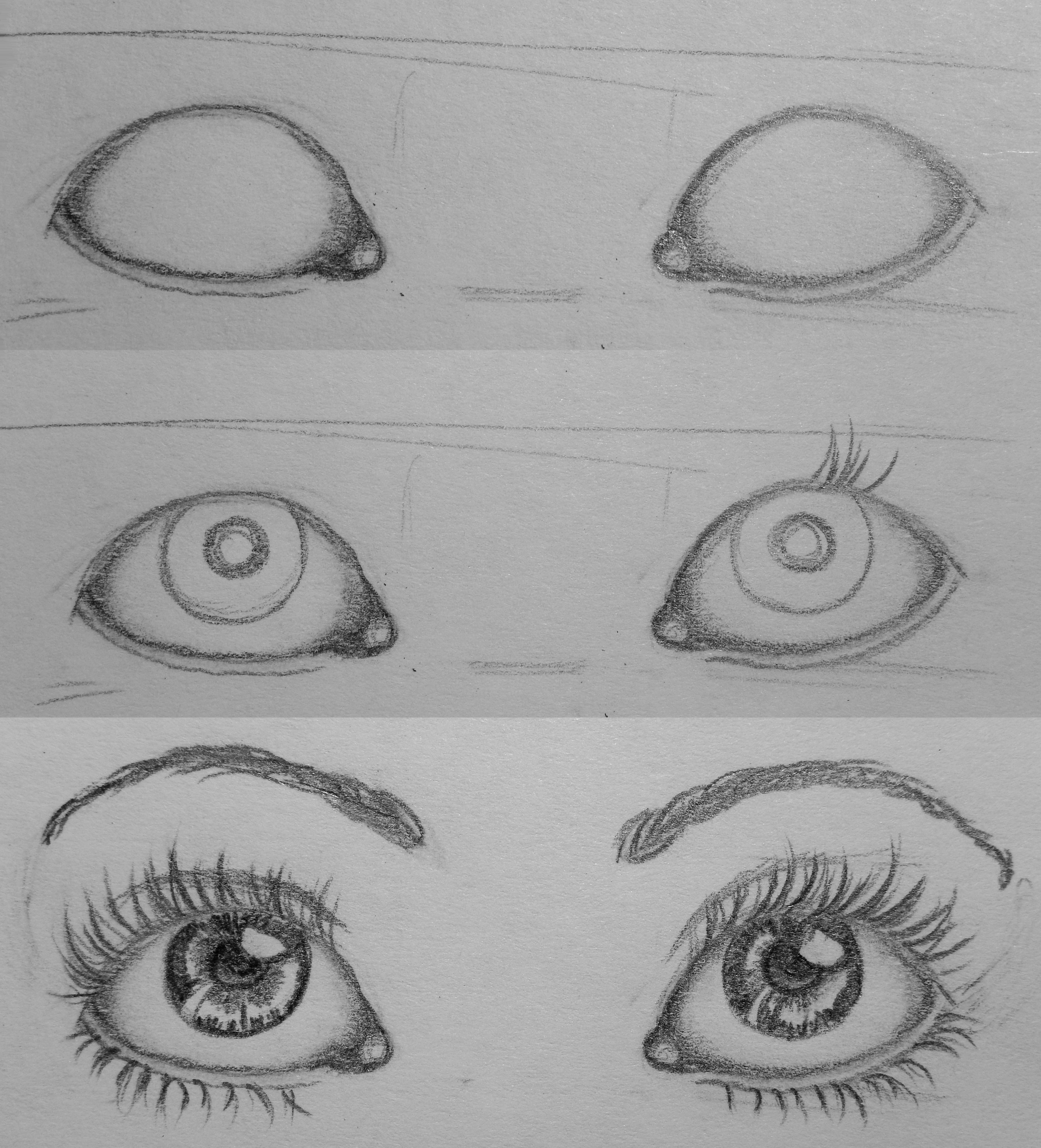 Scribble Eyes Drawing : Eyes how to by ladylaveen on deviantart
