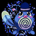 Poliwag in a hat returns