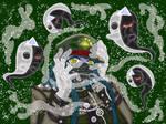 Kiyo+Ghosts (Commission)
