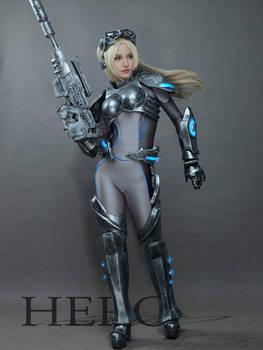 Heros of the Storm Nova Cosplay