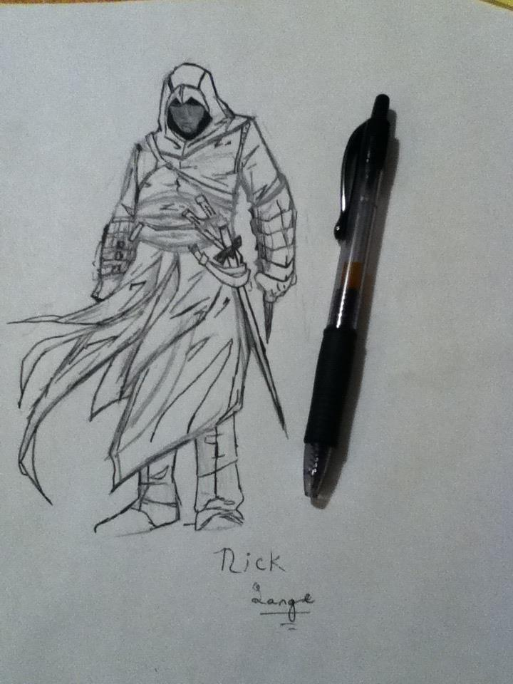 Assassin S Creed Drawing By Mysterymustache On Deviantart