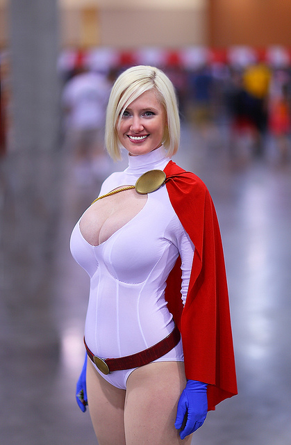 POWER GIRL by designPEN15