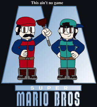 Mario Bros Movie Poster Redraw by Fi-Fi-theDestroyer