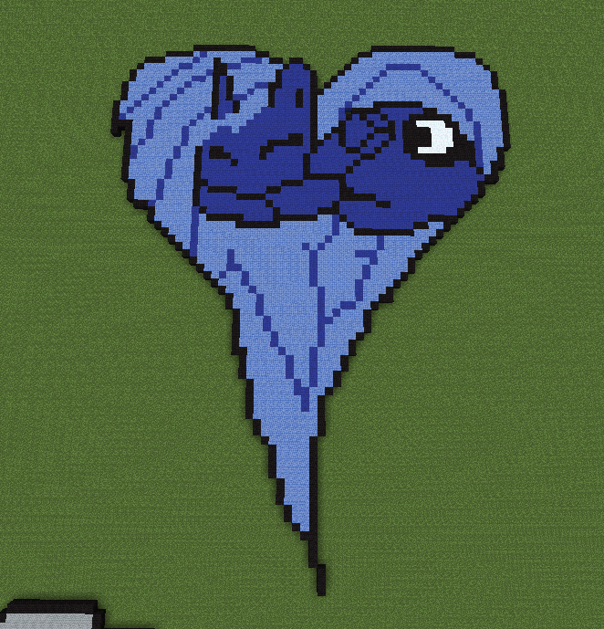 Pixel Art Minecraft My Little Pony Easy Download
