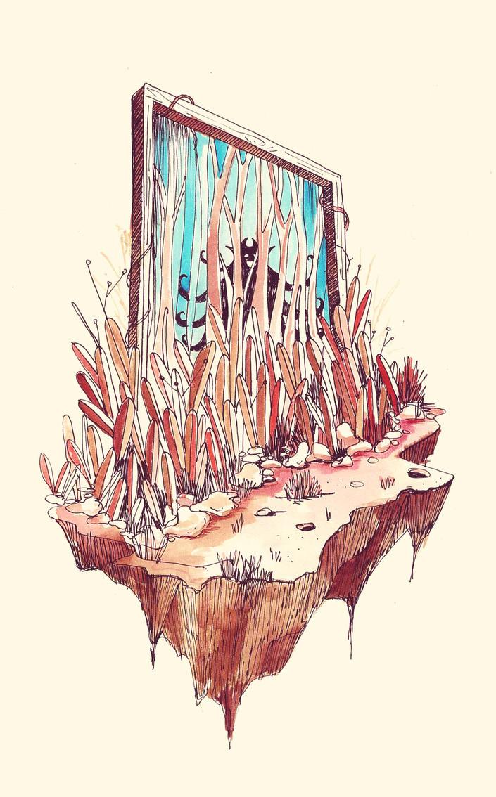 Hidden Gate by morbidillusion666