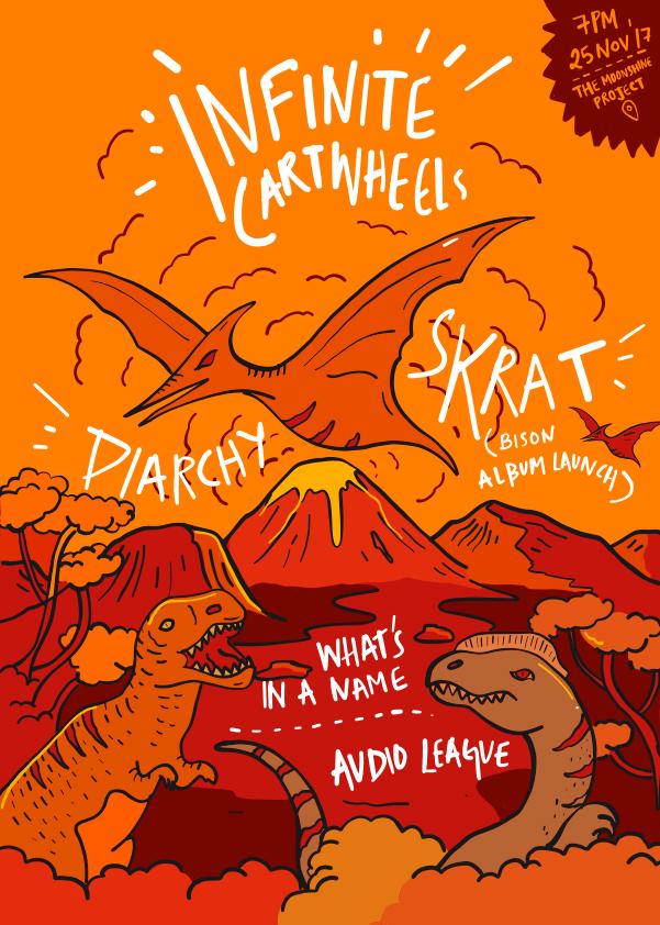 Infinite cartwheels poster by morbidillusion666