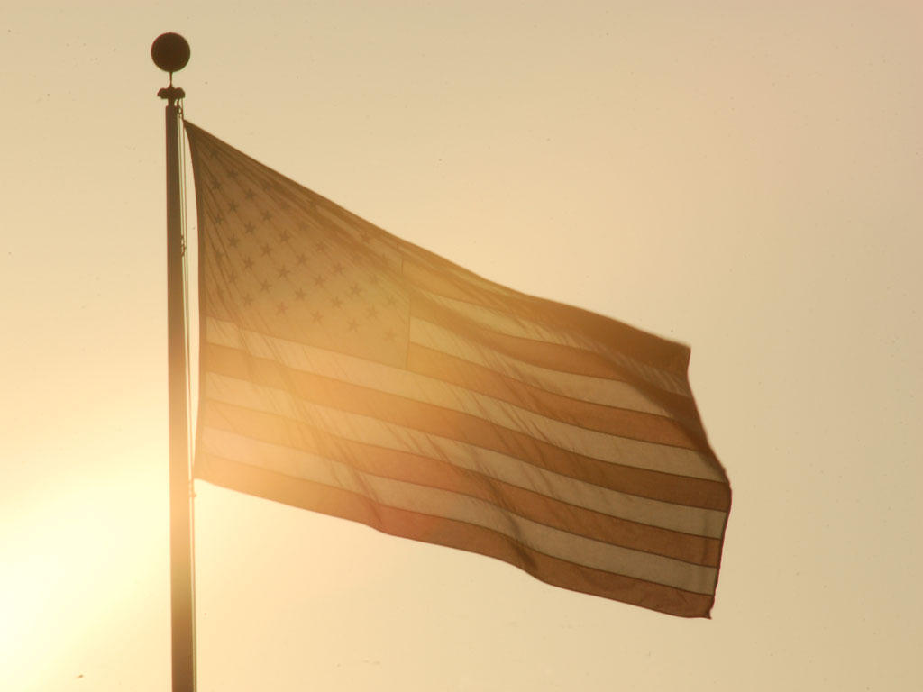 ..but our flag was still there by Photobeast