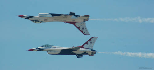 Thunderbird Back To Back by Photobeast
